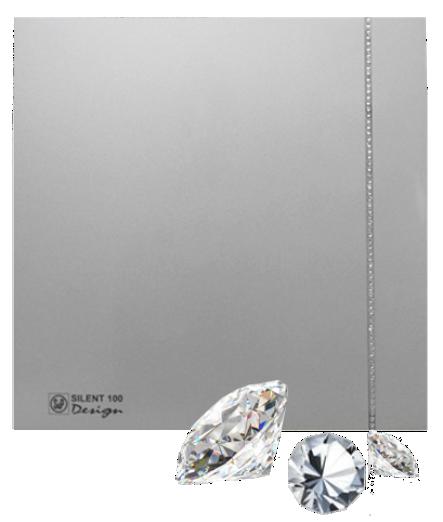 Silent Swarovski Design Silver