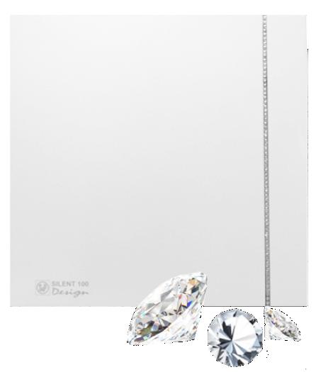 Silent Swarovski Design White