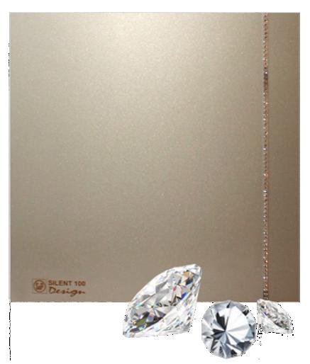 Silent Swarovski Design Champagne